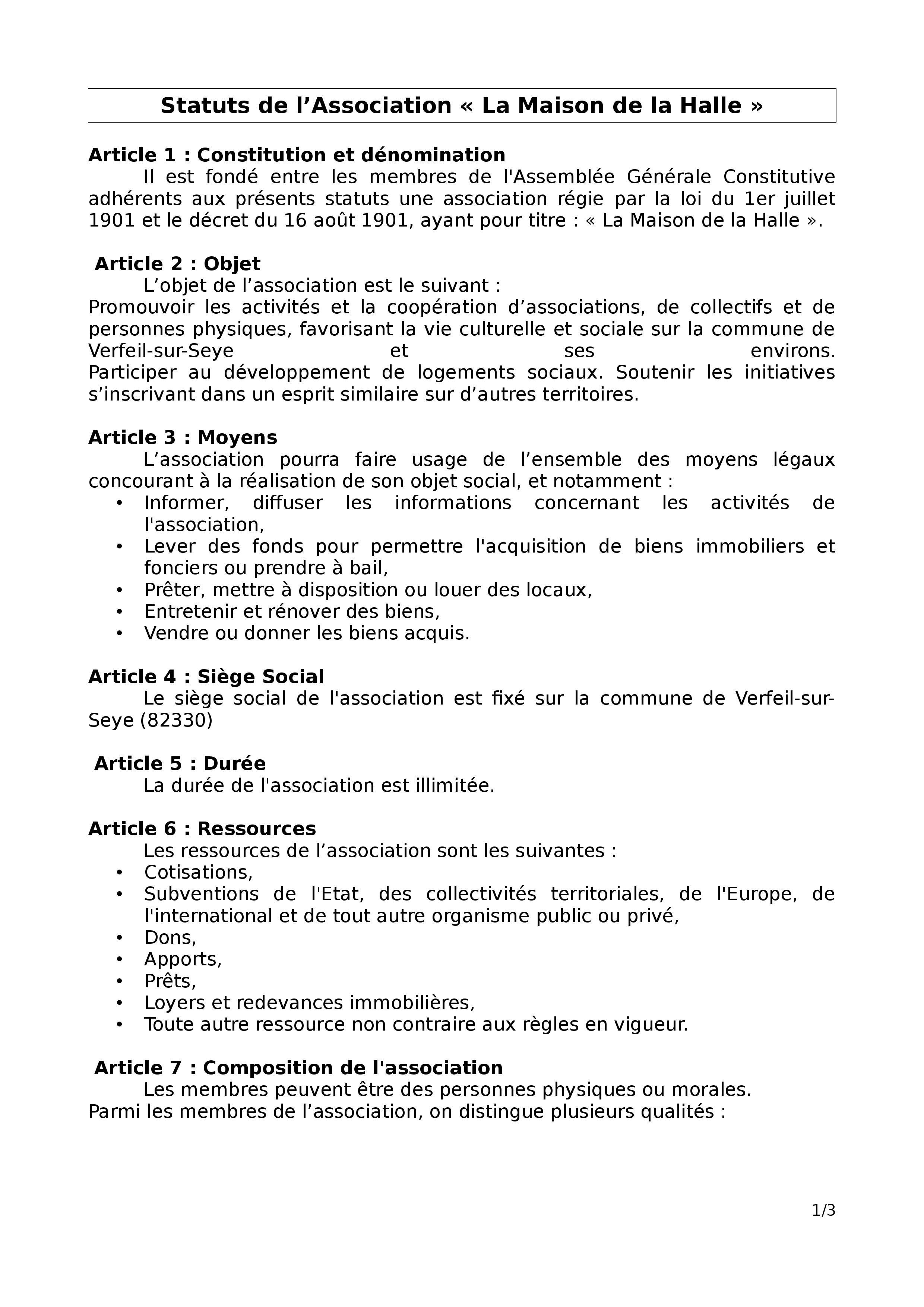 Statuts page 001